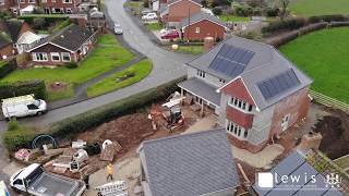 Lewis Architecture Ltd. New 4 Bedroom Dwelling Under Construction Gnosall, Stafford.