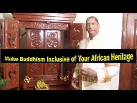 "Make Buddhism Incusive of your Black Heritage: by Anthony ""Amp"" Elmore"