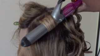 Using my Conair infiniti Pro curling iron and curling wand