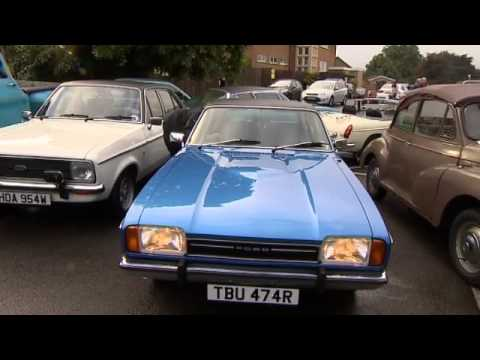 Classic cars for your daily commute, full report by Kate Fisher, ITV Central News