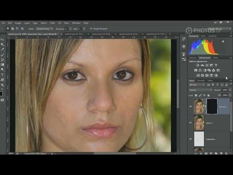 Tratamento De Pele No Photoshop Utilizando O Gaussian Blur