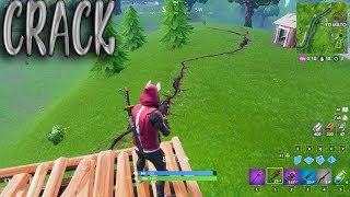 Cracks Are Starting to Appear on the Fortnite Map - Fortnite Battle Royale