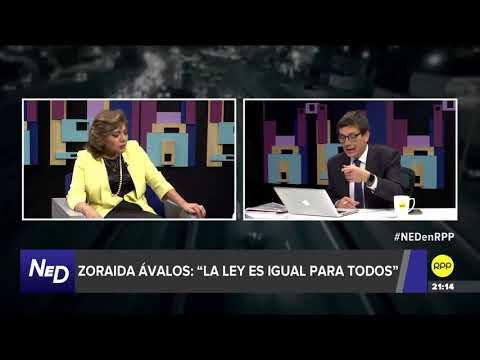 Nada Está Dicho | Ávalos respondió a Chávarry: 'No creo que el caso Cuellos Blancos sea una ficción'