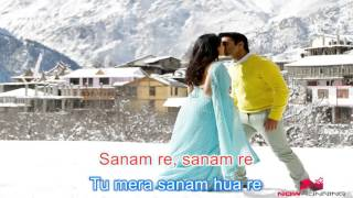 Arijit Singh - Sanam Re (Karaoke Lyrics)