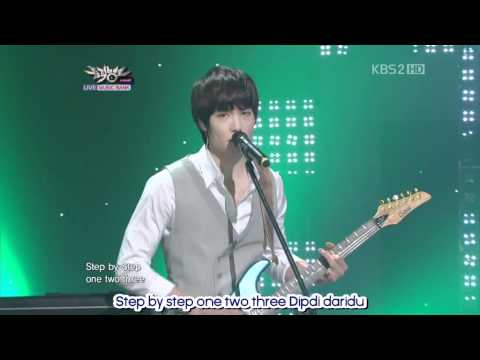 [CNBlue] Intuition @ Music Bank 01.04.2011 [engsub]