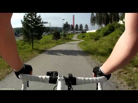 My daily commute by bicycle - Summer