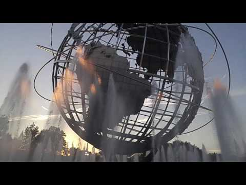 Unisphere at Flushing Meadow Corona Park in Corona-Flushing Queens,New York