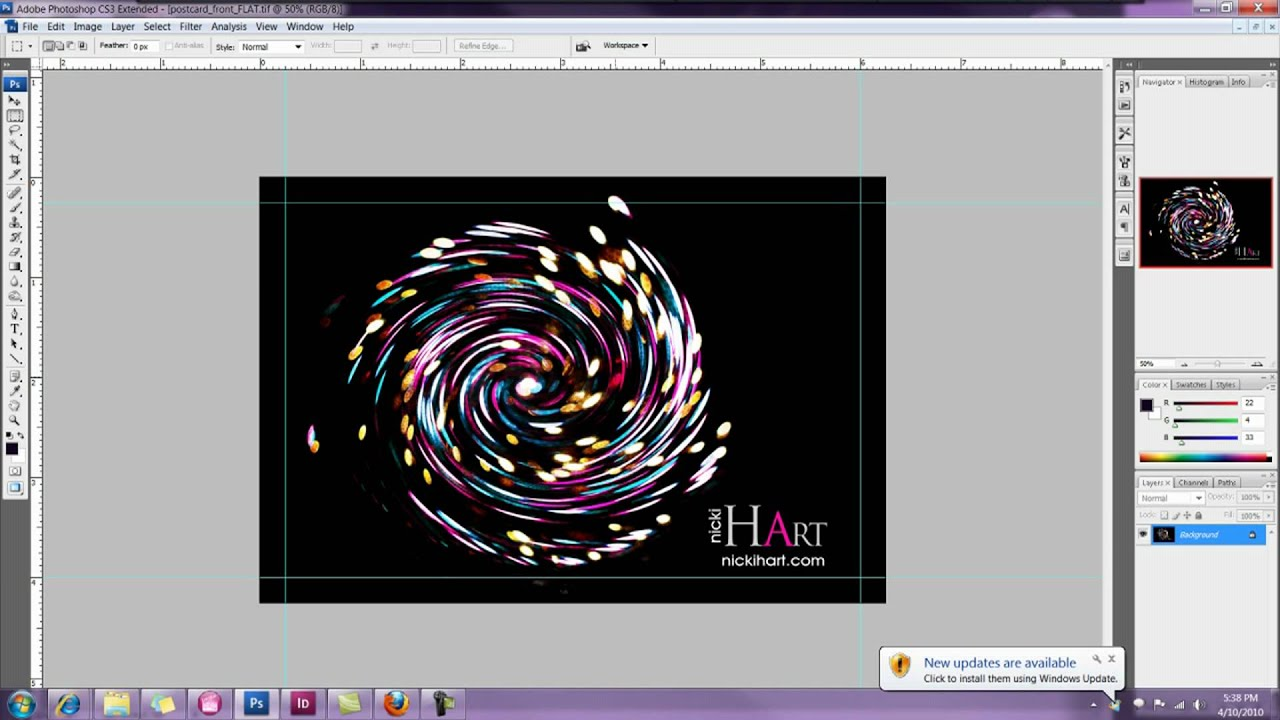 How To Design A X Postcard In Photoshop POSTCARD DESIGN YouTube - 4x6 postcard template photoshop