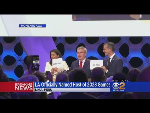 LA ly Named Host Of 2028 Summer Olympics