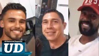 Los jugadores se reunieron en una fiesta para celebrar el cumpleaños de Hugo González, portero del Monterrey