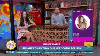 Dulce María relanza 'Más tuya …