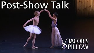 Post-Show Talk: Sara Mearns: Beyond Ballet | Jacob's Pillow Dance Festival 2019