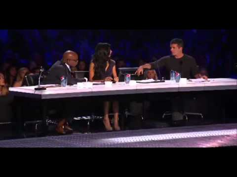 Geo Godly Naked Audition - THE X FACTOR 2011