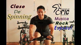Clase de Spinning Completa con música Rock en Español Quema CalorÍas