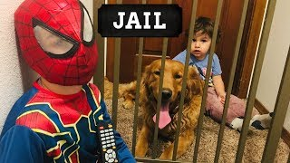 Earl SAVES Baby Redd From Spiderman!