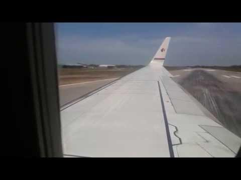 [HD]Malaysia Airlines Kuala Lumpur to Miri (Landing)