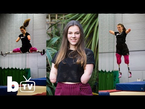Quadruple Amputee Becomes National Trampoline Champion