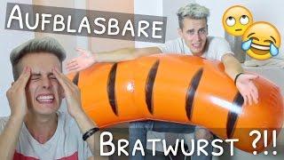 Größte aufblasbare Bratwurst der Welt - WTF ?!! :D | Julienco
