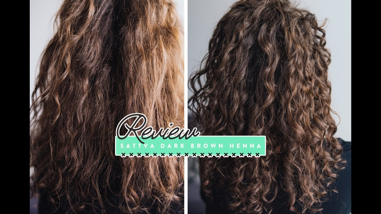 Sattva Henna Dark Brown Review Before After How To Apply Henna