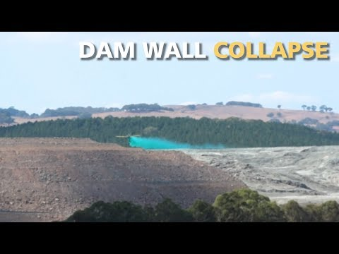 Cadia Gold Mine Tailings Dam Collapse