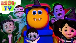 Halloween Family | Bob The Train Cartoons | Halloween Songs For Children by Kids Tv