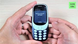 How to Restore Factory Settings on Nokia 3310 (2017)