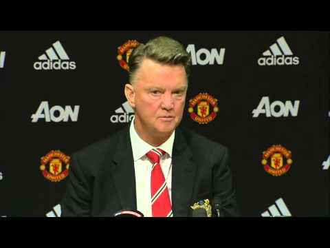 Louis van Gaal delighted with Anthony Martial's fantastic debut