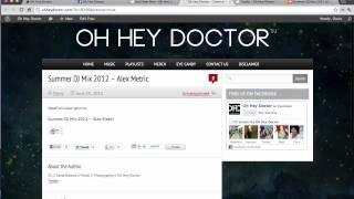 Fullwidth Audio Player Tutorial - SoundCloud Tracks - Wordpress