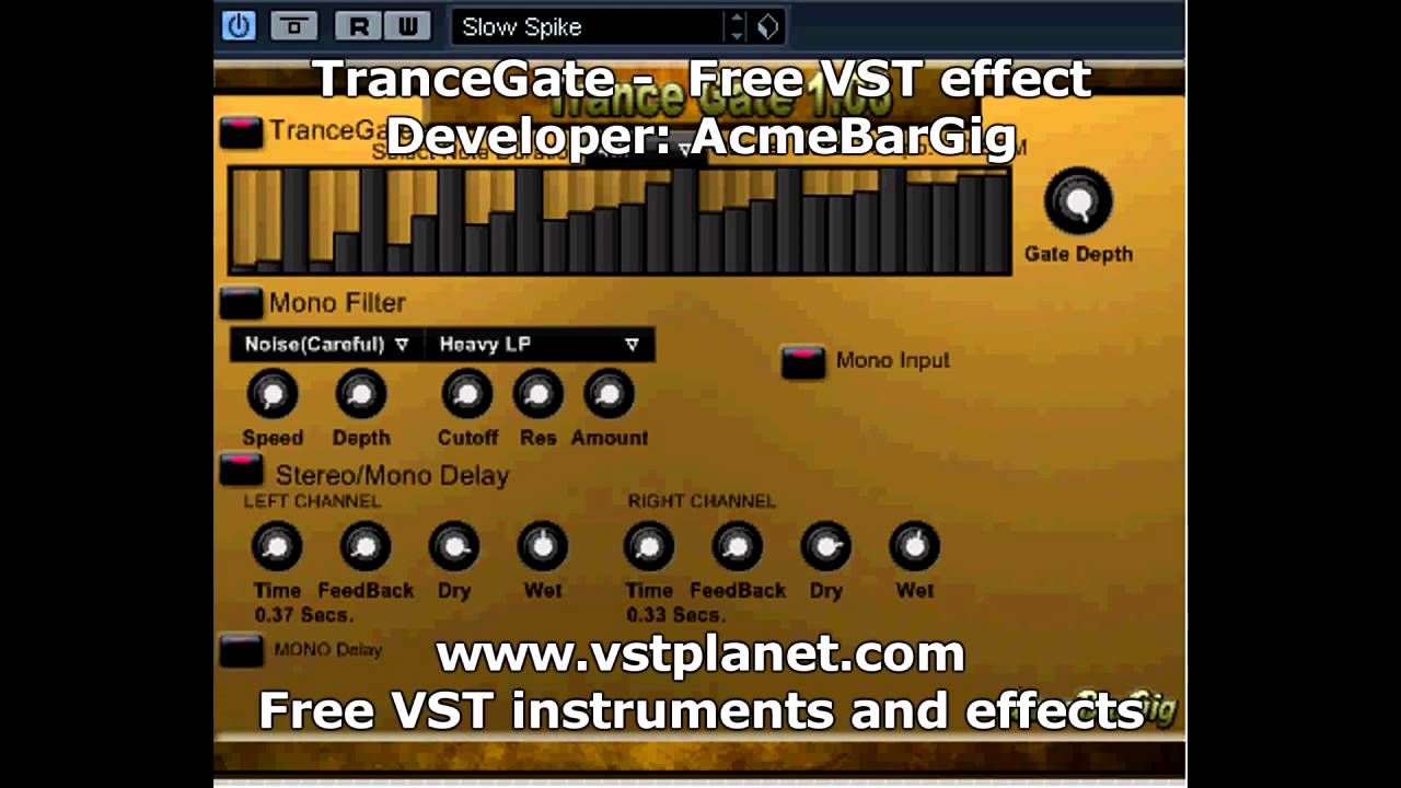 Download Modulation effect - Free VST Plugins, virtual