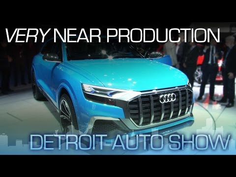 Audi Q8 Concept: Very Near Production - NAIAS 2017