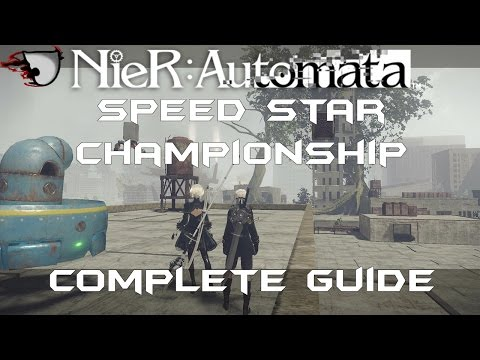 NieR: Automata Speed Star Championship Complete Guide (Stage 1 - 3)