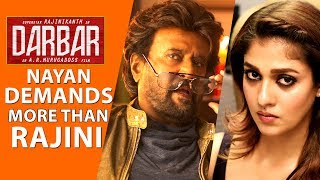 Nayanthara Demands More Than Rajinikanth In Darbar