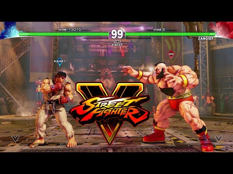 Street fighter 5 gameplay ps4 (indonesia) - 동영상