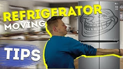 MOVING TIPS 2020 - MOVING A REFRIGERATOR - MOVING HACKS