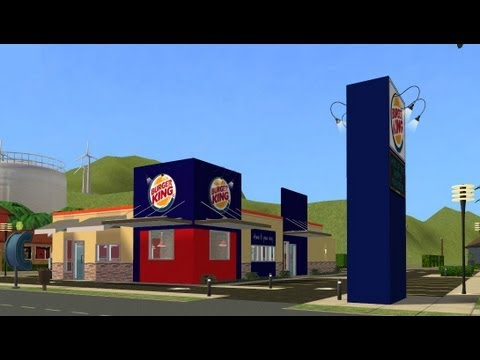 Burger King 20 Design Sims 2 Build