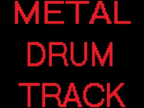 METAL BACKING TRACK DRUMS ONLY FREE