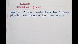 1.sınıf matematik Çıkarma İşlemi #Bulbulogretmen #matematik #çıkarma