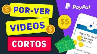 🎉Cashy   Nueva APLICACIÓN Que PAGA $5.46 por Ver VIDEOS [+RETIRO🔴] Apps para GANAR DINERO en Paypal