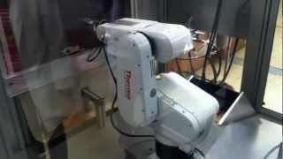 Robot Thermo CRS/F3 (Secuencia de pintura)