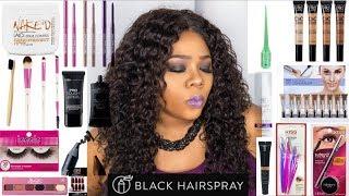 Blackhairspray did my makeup! Beatface on a budget | Ft. BlackHairspray.com