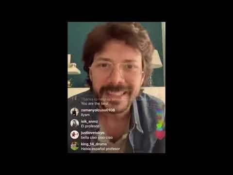 Bella Ciao By Álvaro Morte (El Professor) Live - MONEY HEIST - CASA DE PAPEL