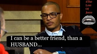 T.I & Tiny: T.I says his marriage to Tiny is a distraction