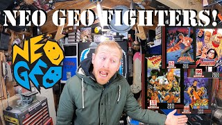 Fighting Games on the NEO GEO!!