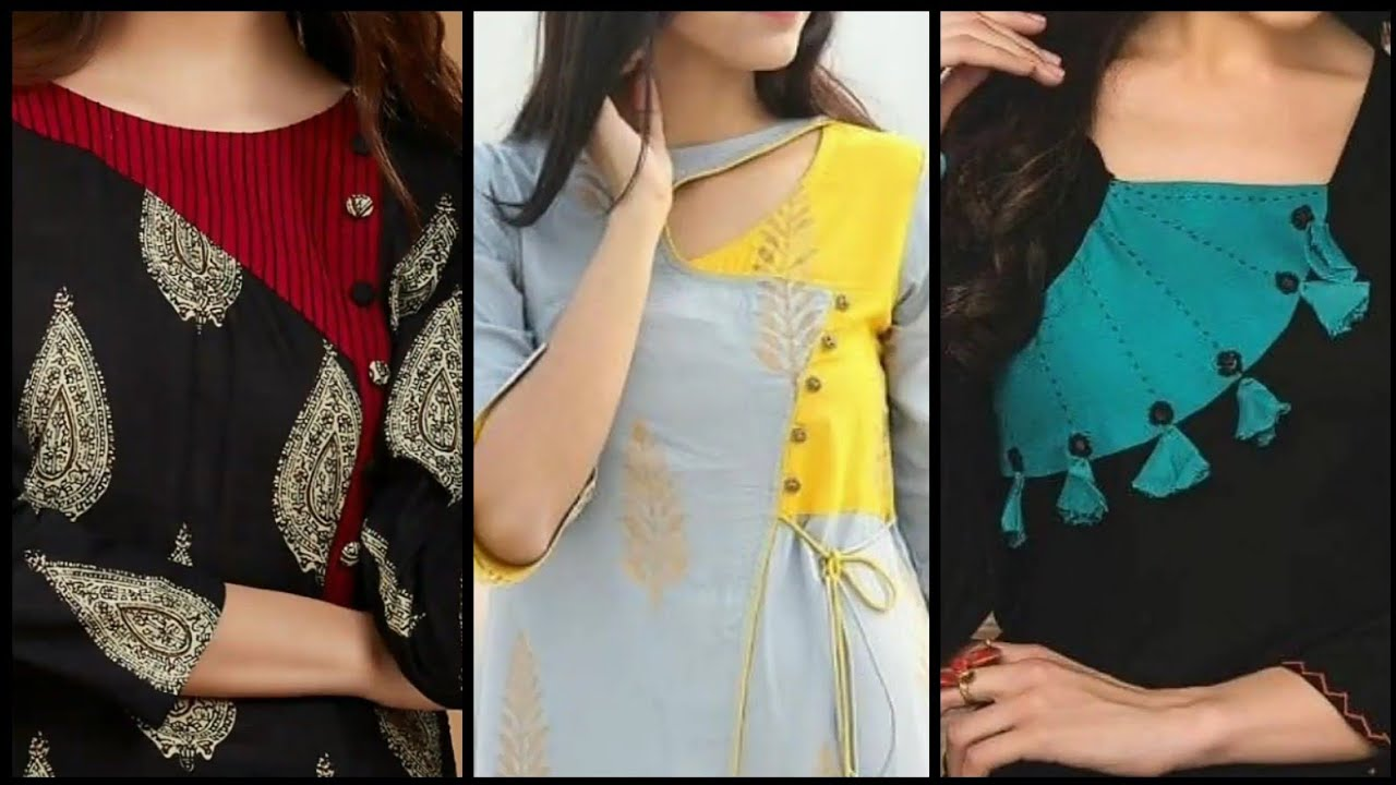 New Stylish Latest Neck Designs 2020 Kurti Neck Design Salwar Kameez Neck Design Gala Design Youtube