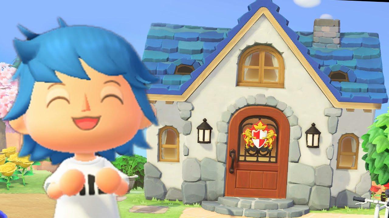 Animal Crossing New Horizons Upgraded House Ideas Youtube
