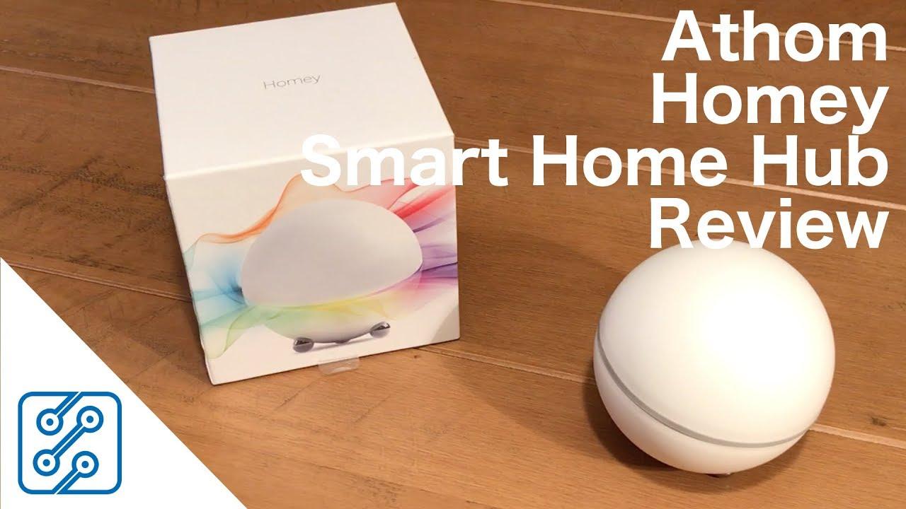 Home Automation Hub Reviews athom homey smart home hub review - youtube