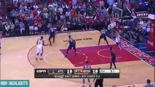 Atlanta Hawks vs Washington Wizards - Full Highlights | Game 6 | May 15, 2015 | 2015 NBA Playoffs