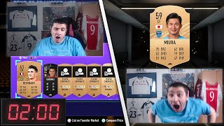 Opening bronze packs until I pack Miura