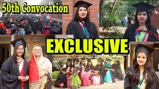 Beauties with Brain | Celebration of 50th Convocation | University of Dhaka | Exclusive Video
