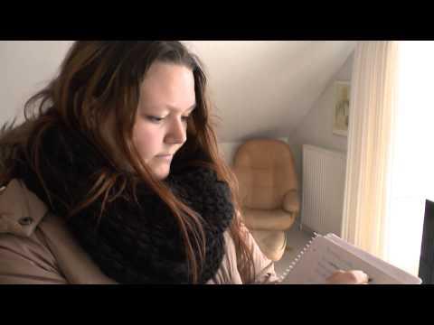 EASV finansøkonomistuderende på ejendomsmæglerøvelse i Hjerting